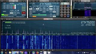 10 and 11 meter opening 0200 UT many strong signals on SDRplay RSP1A