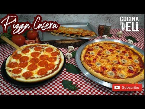 Download Pizza Casera con ó SIN HORNO   Cocina Deli