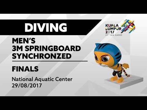 KL2017 29th SEA Games | Diving - Men's 3m Springboard Synchro FINALS | 29/08/2017