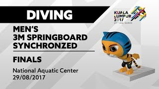 Download Video KL2017 29th SEA Games | Diving - Men's 3m Springboard Synchro FINALS | 29/08/2017 MP3 3GP MP4