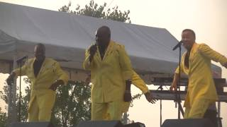 The Spinners-Rubberband Man live in Waukesha, WI 7-20-14