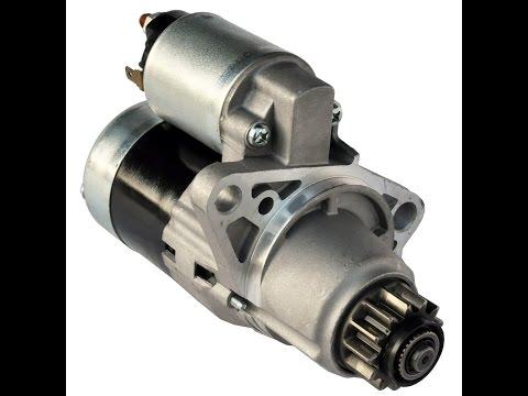 Como cambiar un motor de Arranque de auto rapido y facil