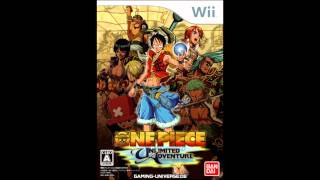 One Piece Unlimited Adventure - The Fossil Beach
