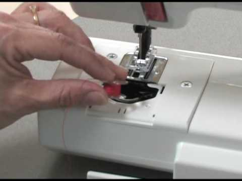 Janome Sew Mini Sewing Machine Part 40 Threading The Machine YouTube Delectable Crofton Sewing Machine Model 8708