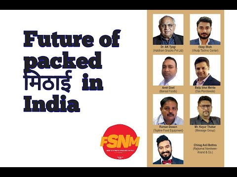 Future of Indian branded & packed मिठाई