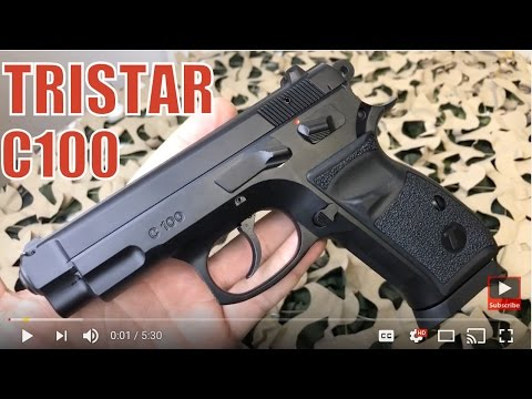 Tristar C100 CZ75 Semi Auto 9mm Clone - Worth It?
