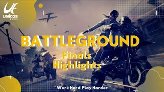 Battleground | Finals Highlights | Free Tournament | PUBG Mobile #UnicosESports