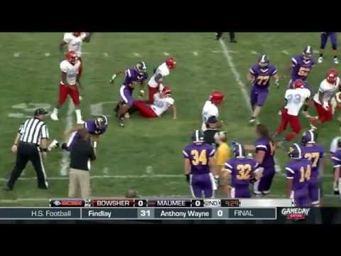 Maumee vs. Bowsher High School Football