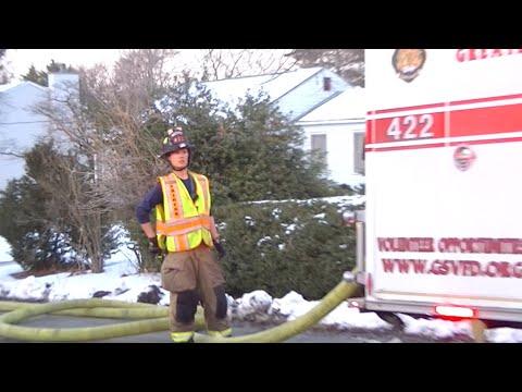 6232 Gum Street House Fire Northern Virginia Fire Buffs Youtube