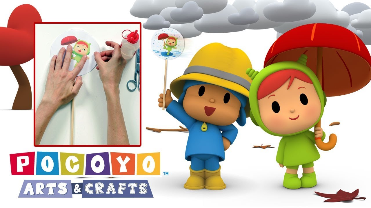 Pocoyo arts & crafts: nina's thaumatrope youtube.