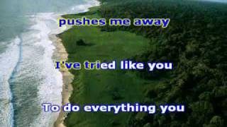 KARAOKE Linkin park - Pushing me away
