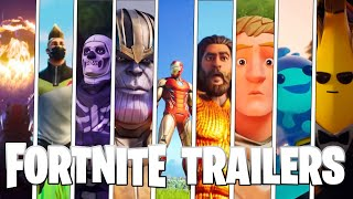 All Fortnite Cinematic Trailers (Seasons 1-12)