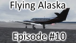 FSX | Flying Alaska Ep. #10 - Holy Cross to Point Lay | Cessna F406