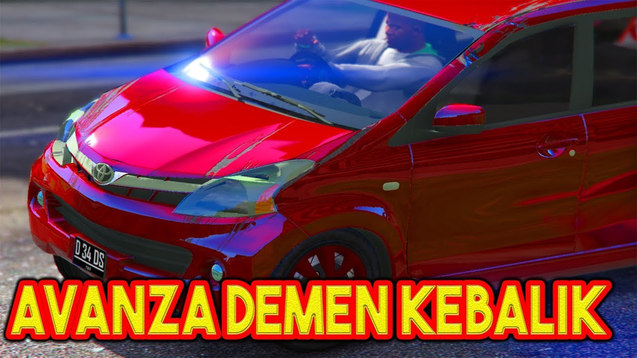 Review Mobil All New Toyota Avanza 2012 Gta 5 Mod Bahasa Indonesia Youtube
