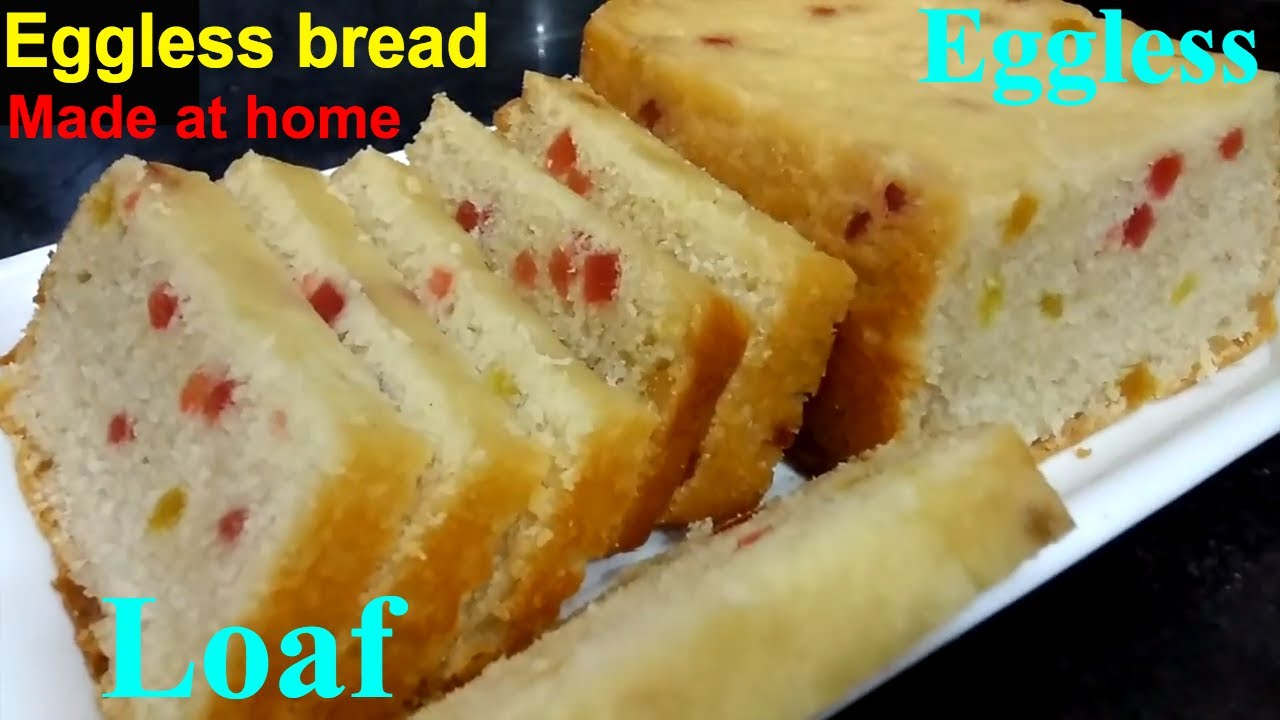 How to make simple bread cake at home