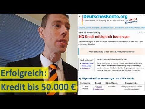ING Kredit Erfolgreich Beantragen (bis 50.000 €)