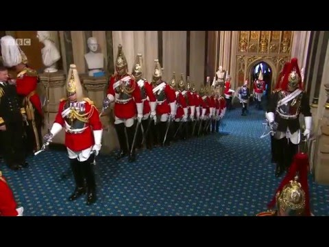 The State Opening Of Parliament - 18th May 2016