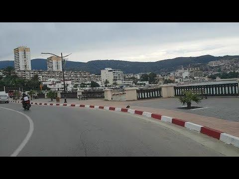 Driving in annaba Algérie 07 09 2018 عنابة الجزائر
