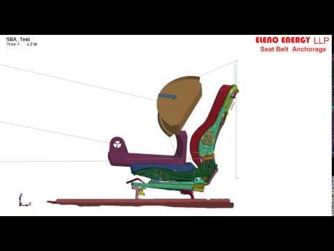Seat Belt Anchorage Test Using Ls-Dyna
