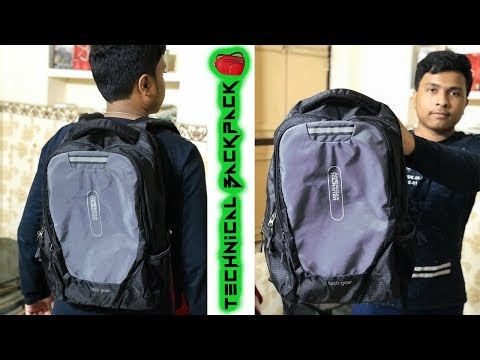 The Technical Backpack | Unboxing Of American Tourister AMT Tech Gear Laptop Backpack