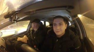 Клиент в такси - штурман