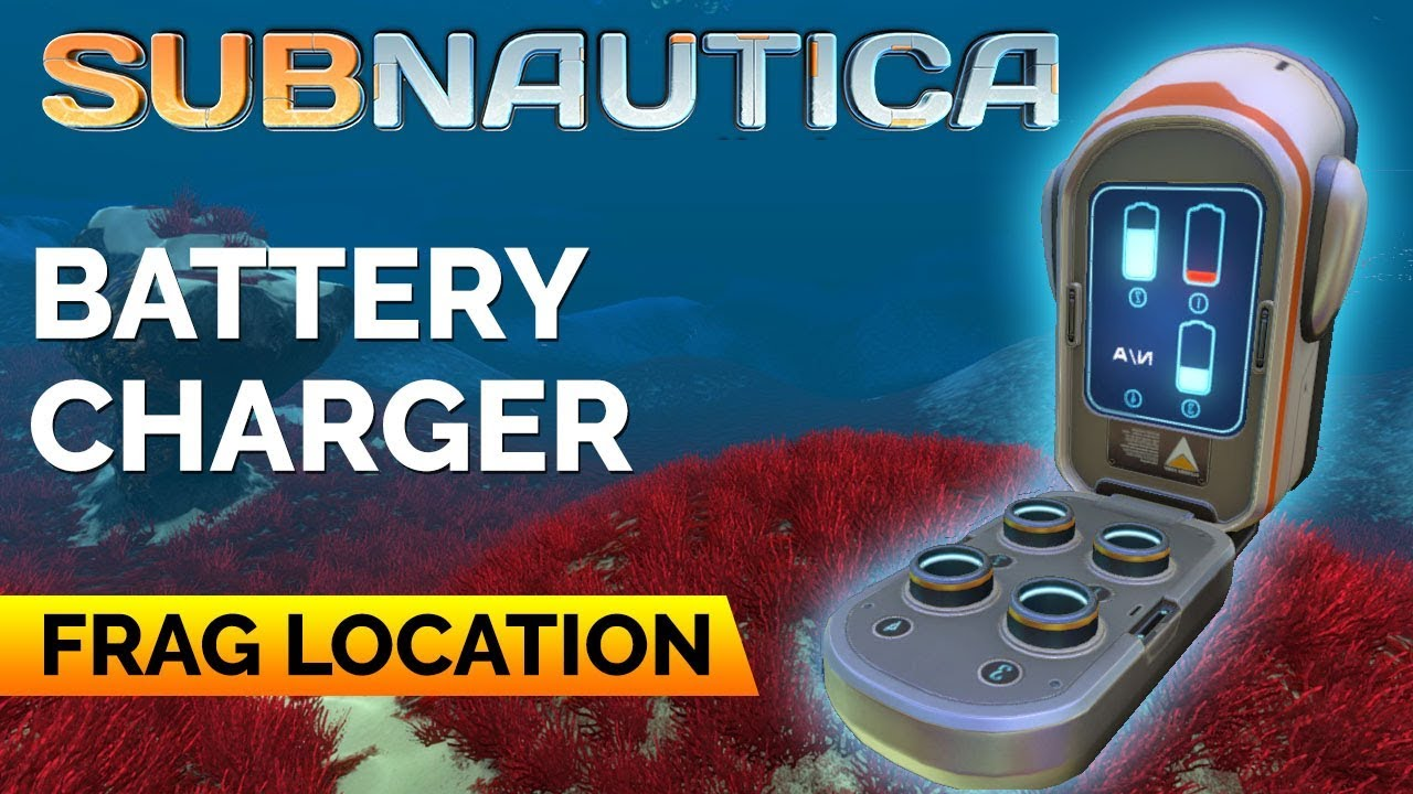 Battery Charger Fragments Subnautica Youtube