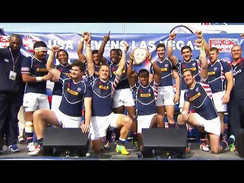 USA wins Shield in Las Vegas Rugby Sevens - Universal ...