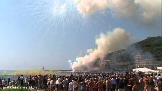 Sagra del Fuoco Recco 2014 - La Tirrena Fireworks (Quartiere Verzemma) - 08.09.2014