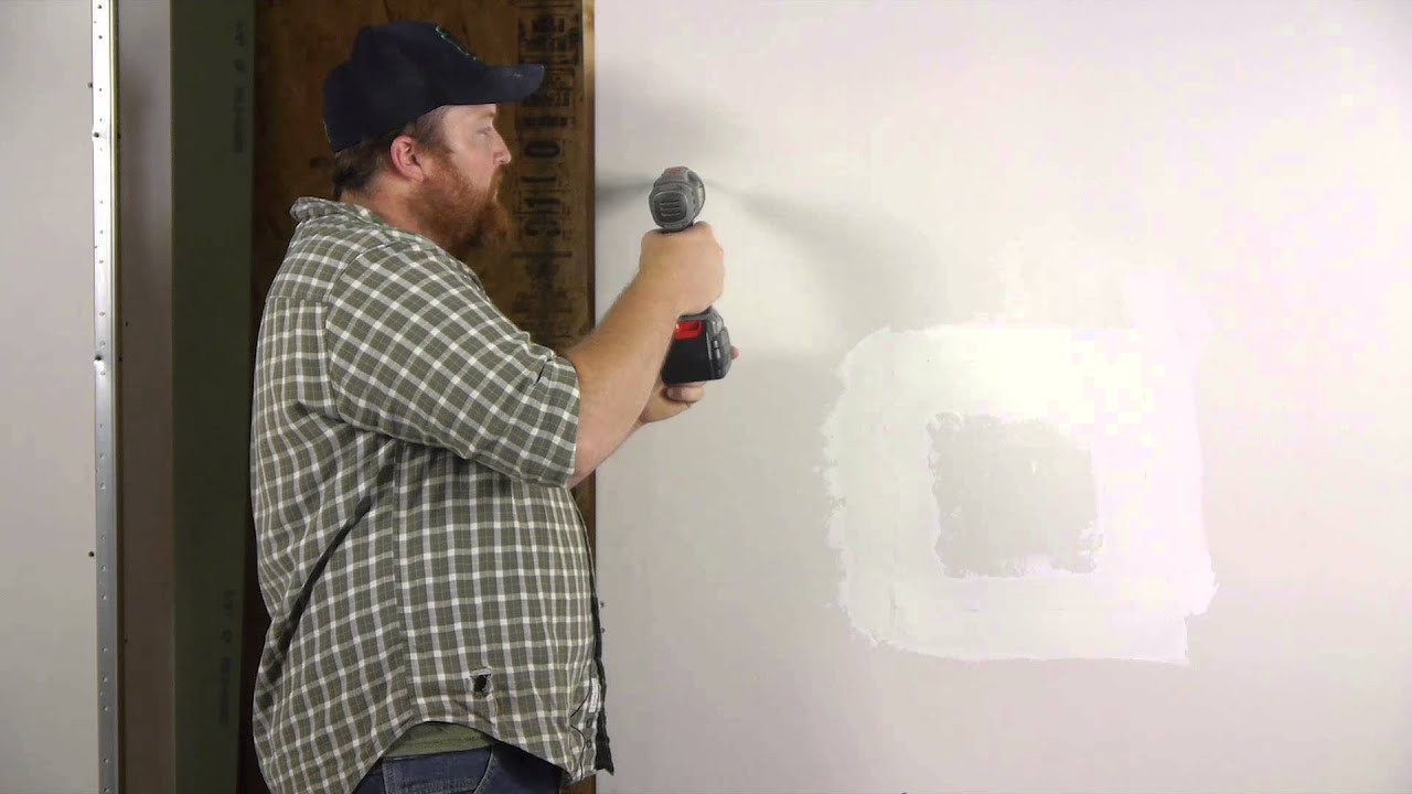 How To Install Self Drilling Drywall Anchors Wall Repair