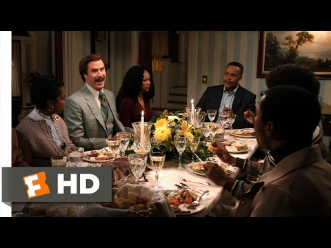 Anchorman 2: The Legend Continues - White Elephant In The Room Scene (8/10) | Movieclips