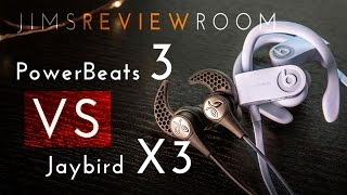 Powerbeats 3 vs Jaybird x3 : Which one is Better? - Compare Video