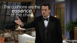 Chandler Bing Being A Constant Mood