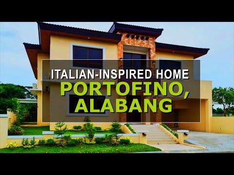 Video Tour of a Brand New Home in Portofino Village, Vista Alabang