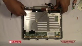 How to Replace the Touchscreen in Panasonic Toughbook CF-30 Part 1