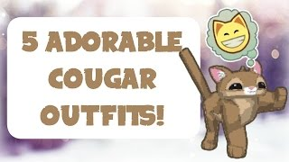 5 Adorable Cougar Outfits | Animal Jam