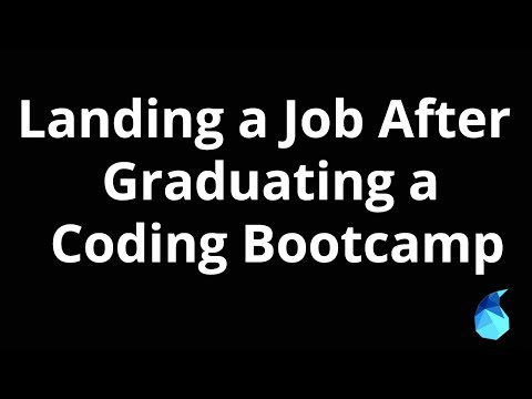 Landing a Job After Graduating a Coding Bootcamp