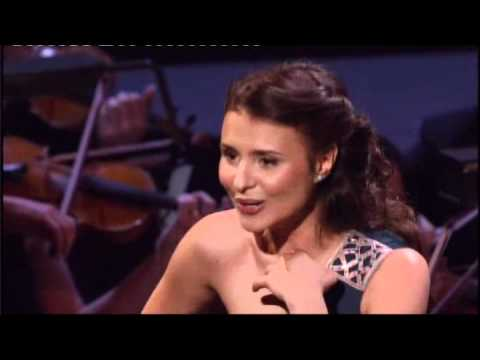 Winner of Singer of the World 24 year-old Moldovian soprano, Valentina Nafornita