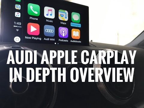Audi Apple Car Play In Depth Overview