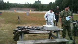 Norwegian Arms & Armour Society demonstration of Norwegian weapons Part 3 (eng subs)