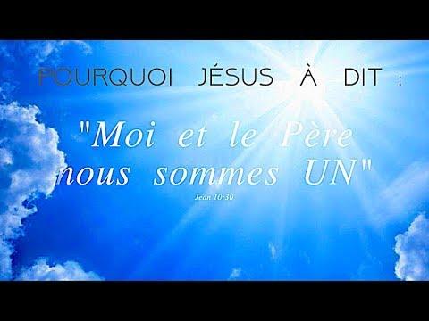 Pourquoi Jésus a dit :
