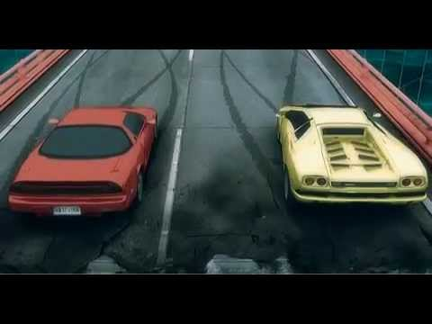 Cool Animated Car Race The Original Youtube