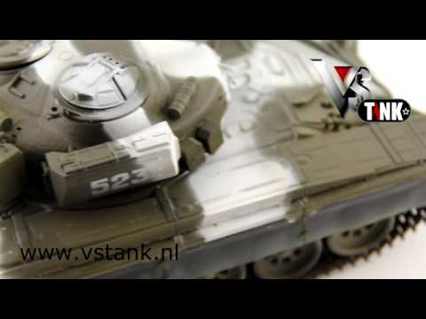 VsTank 1:24 RC Tank T-72 M1 Winter Camo [360 graden demo]