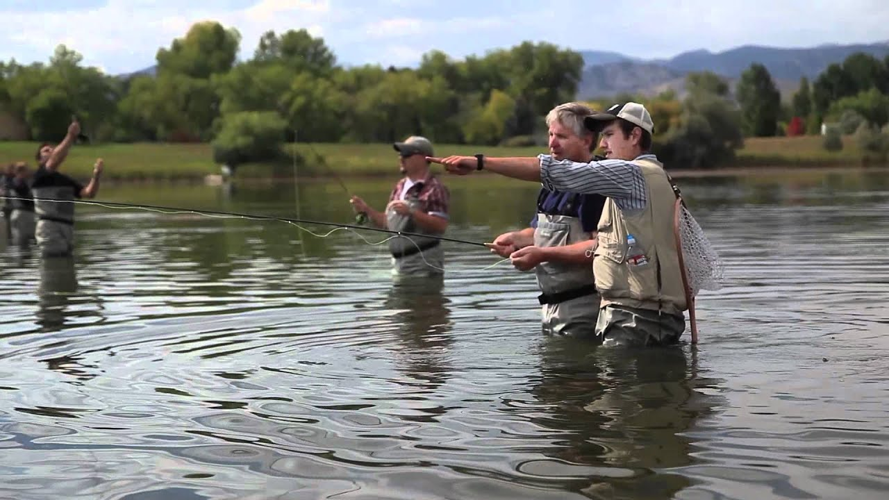 Group fly fishing boulder youtube for Alaska out of state fishing license