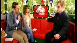 Elton John on The One Show, The Queen's Diamond Jubilee Pt. 2