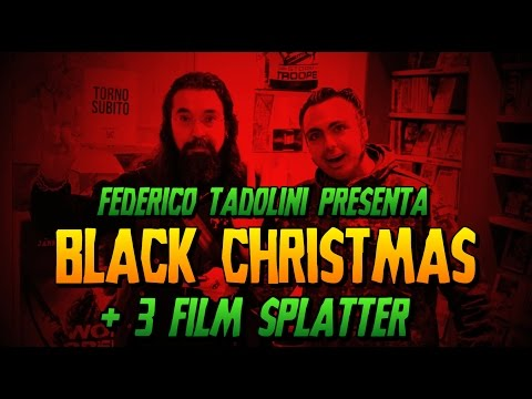 Drive In Movies | Black Christmas + 3 Film Splatter