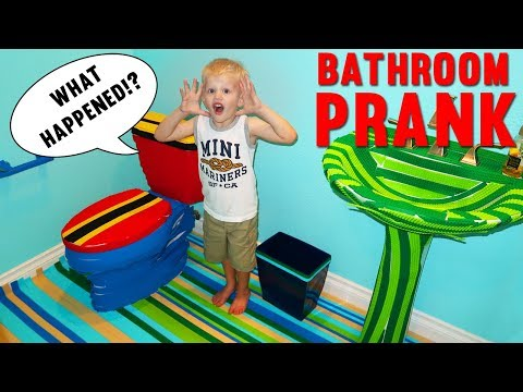 Download Youtube: BATHROOM MAKEOVER PRANK - Family Fun Pack