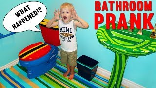 BATHROOM MAKEOVER PRANK - Family Fun Pack thumbnail