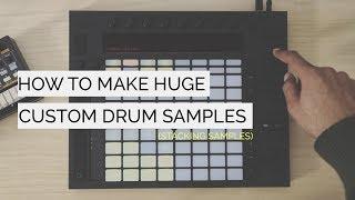 How to Make Custom HUGE Drum Samples - Modern Pop Production