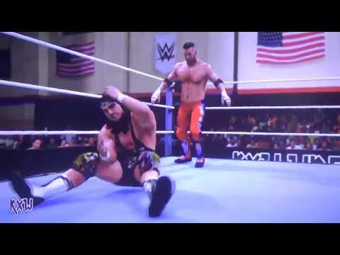 Curt Hawkins vs Chad Gable