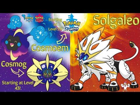 Pokémon Sword & Shield How to Evolve Cosmog into Cosmoem then into Solgaleo! (In Pokémon Sword)